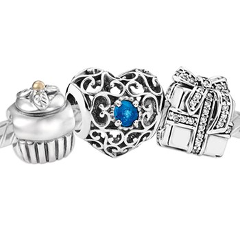 3389-PANDORA Happy December Birthday Set