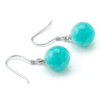 Amazonite Earrings-645-687