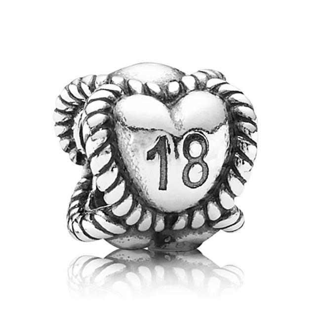 341637-PANDORA 18th Birthday Milestone Charm