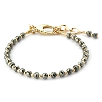 344972-Lollies Pyrite Bracelet