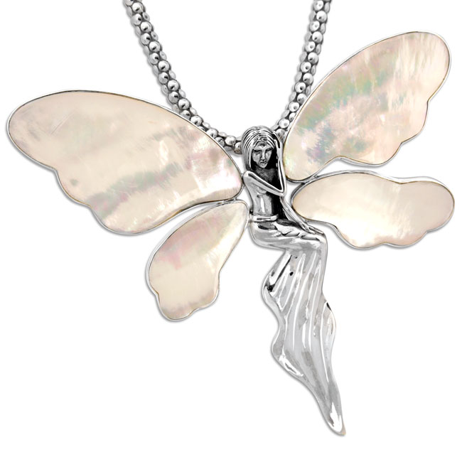 337057-Mother of Pearl Fairy Pendant