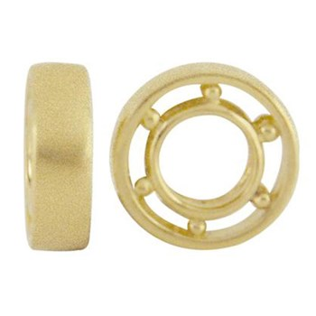 Storywheels Sandblasted 14K Gold Wheel-332681