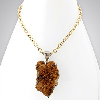 Spessarite Garnet Necklace-342159