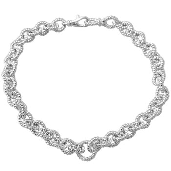 Twist Chain Necklace-341293