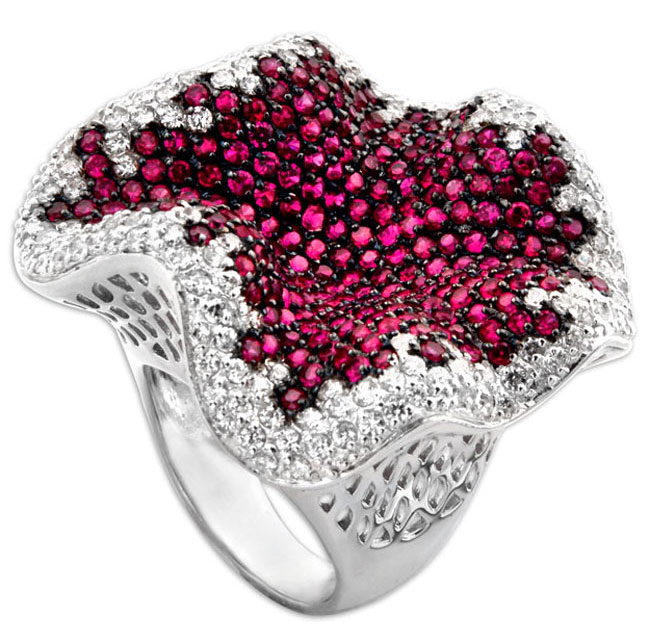 336979-Petunia Bling Ring ONLY 1 AVAILABLE