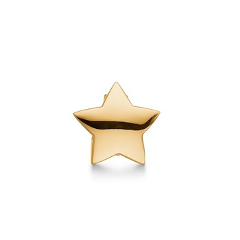 STORY by Kranz & Ziegler Gold-Plated Chubby Star Button