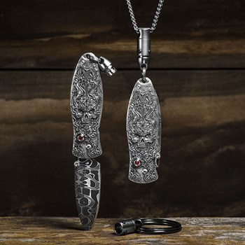 515-13-William Henry Morpheus 'Twilight' Pendant Knife