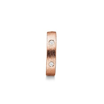 STORY by Kranz & Ziegler Rose-Plated Starry Ring Spacer PRE-ORDER