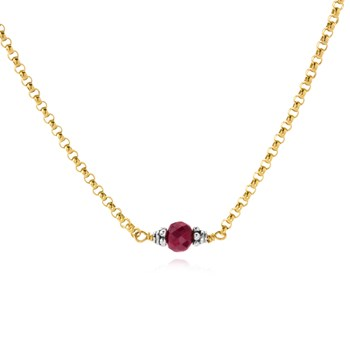 Ruby Petite Necklace