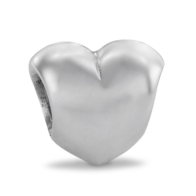 185745-PANDORA Big Smooth Heart Charm