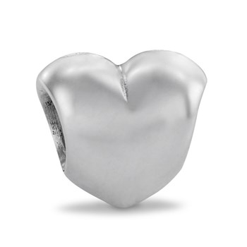 PANDORA Big Smooth Heart Charm-185745