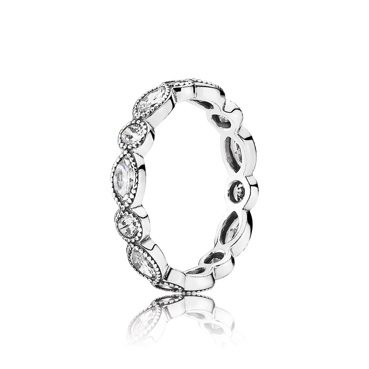 PANDORA Alluring Brilliant Marquise with Clear CZ Ring