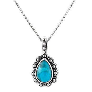 December Turquoise Holi-daze Birthstone Necklace 342768