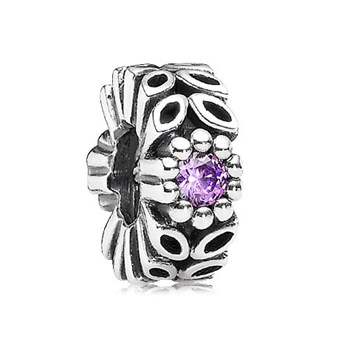 344265-PANDORA Violet Twice as Nice Spacer