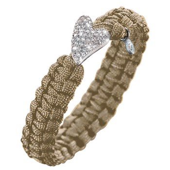 Soldier Sand Bracelet w/Silver Bling Heart Clasp LIMITED QUANTITIES!