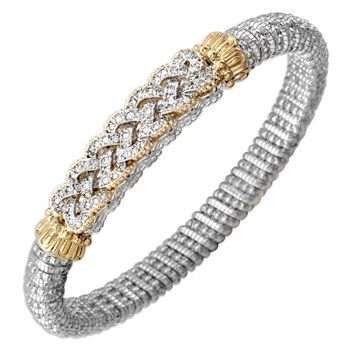 Braided Diamond Bracelet-340535