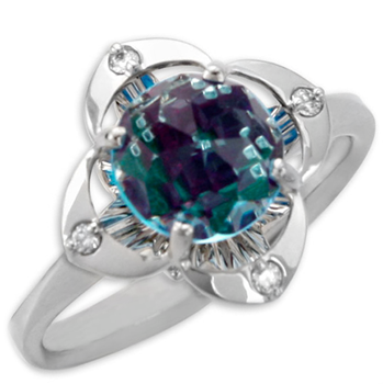 Galatea Blue Topaz Ring-337348