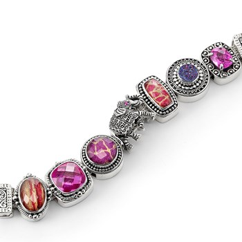 341178-Lori Bonn The Wild One Charm Bracelet One ONLY 2 LEFT!