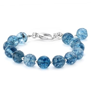 344851-Lollies Blue Quartz Bracelet