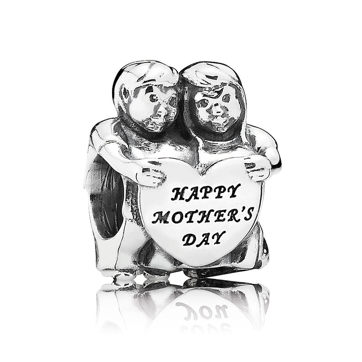 "802-2946-PANDORA ""From Us"" Happy Mother's Day Charm"