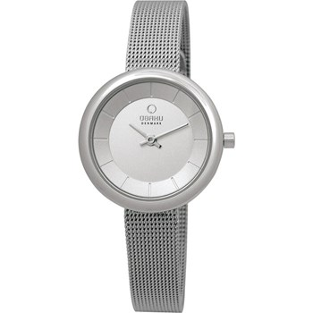500-24-Women's Silver Mesh Watch