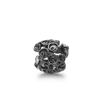 STORY by Kranz & Ziegler Black Rhodium Tiny Roses Spacer