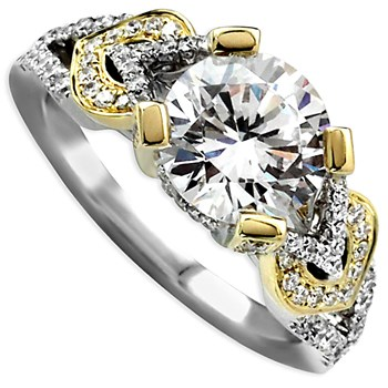 Frederic Sage Bridal Ring-340965