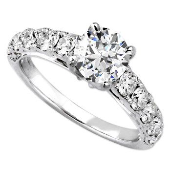 Parade Semi-Mount Diamond Ring-345389