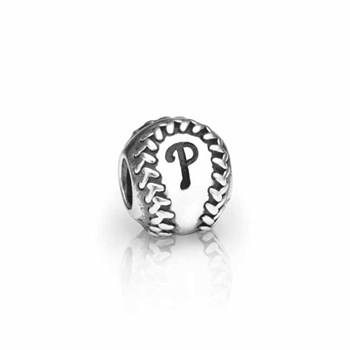 PANDORA Philadelphia Phillies Baseball Charm RETIRED-346625