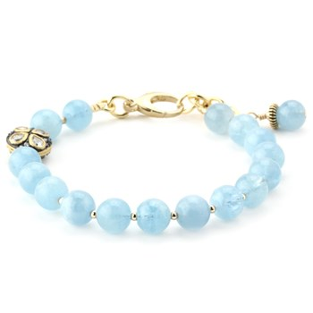 Lollies Aquamarine Bracelet 344658