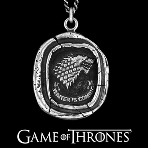 347794-Pyrrha Game of Thrones House Stark Talisman Necklace