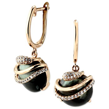 Luna Orb Earrings-345013