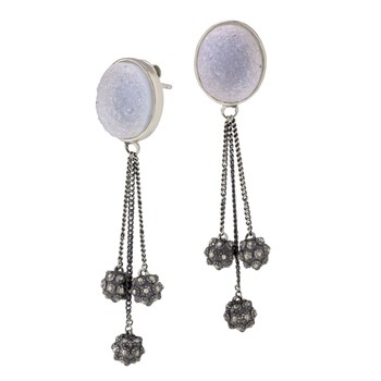 Drusy Earrings-645-3170