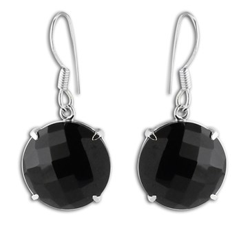 347429-Black Spinel Earrings