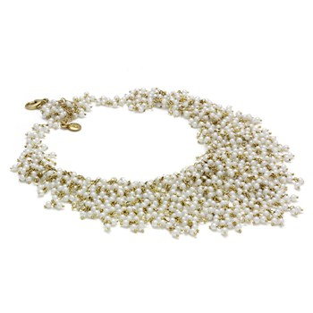 Pearl & Quartz Necklace-348544