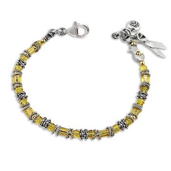 187770-Liver/Bladder/Sarcoma Cancer - Miyuki Style Awareness Bracelet