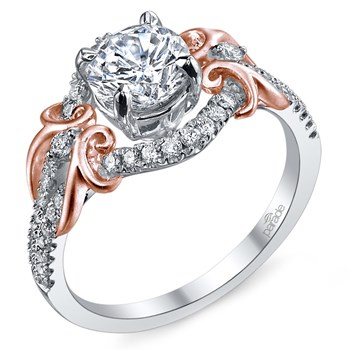 345261-Parade Diamond Split Halo Ring