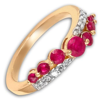 Ruby & Diamond Ring-292870