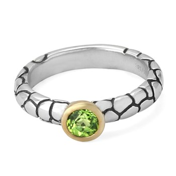 348729-75% OFF Peridot Ring