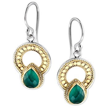 345294-Green Onyx Earrings
