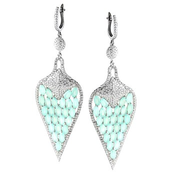 347215-Ocean Chalcedony Earrings