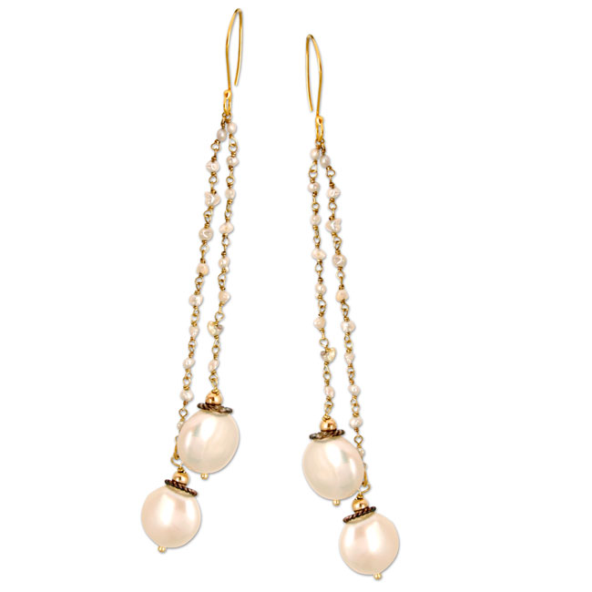 336045-Freshwater Pearl Earrings