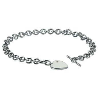 Hot Diamonds Lovelocked Silver Bracelet ONLY 2 LEFT!-326926