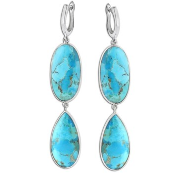 347418-Turquoise Earrings
