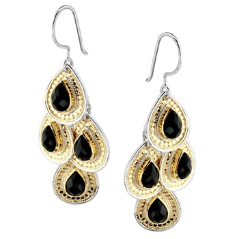 345299-Black Onyx Chandelier Earrings