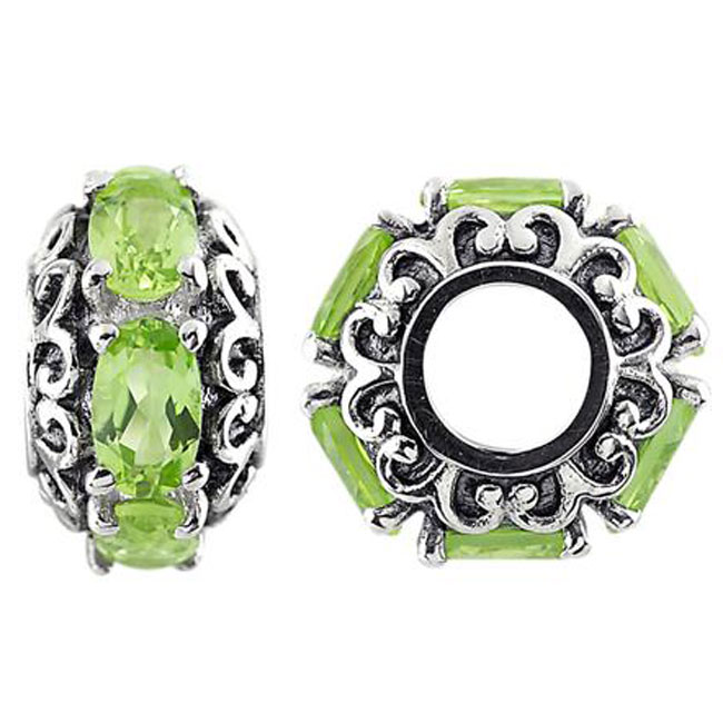 333741-Storywheels Peridot Sterling Silver Wheel ONLY 3 AVAILABLE!