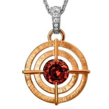 Zircon Van Gogh Necklace-336511