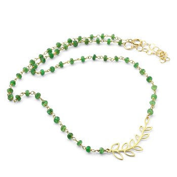 Leaf Emerald Necklace-235-600