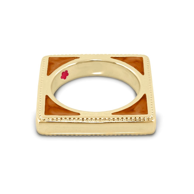 344708-Brown 'Sea Diamonds' Ring