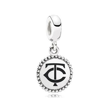 PANDORA Minnesota Twins Baseball Charm RETIRED LIMITED QUANTITIES!-345446
